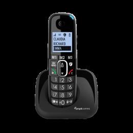 Amplicomms BigTel1500 Draadloze senioren telefoon voor het vaste netwerk |Extra luide oproeptonen | Ongewenste bellers blokkeren
