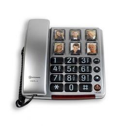 Amplicomms BigTel 40 BNL | Senioren telefoon vaste lijn | Foto toetsen