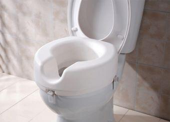 Weinberger 43522S Toiletzittingverhoger | Montage zonder gereedschap | Past op bijna elke toiletpot |