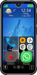 "BEA-FON MX1S Simlock vrije robuuste senioren smart telefoon | Android 10 | Eenvoudig menu | Touchscreen 5,71""- 14 cm | WhatsApp | SOS-knop | Nederlandstalig menu"