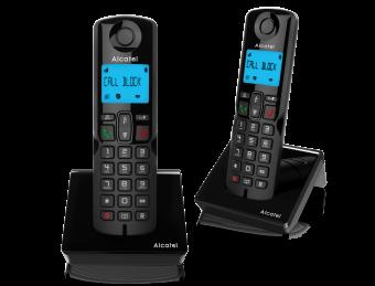 Alcatel S250 duo dect telefoon voor de vastelijn